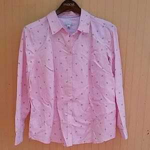 Croft & Barrow Women Shirt with Long Sleeve XL